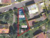 Prodej stavebního pozemku 355 m2 pro výstavbu RD, Karlovy Vary - Stará Role, Nerudova ulice