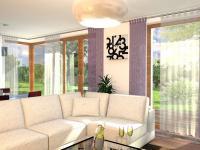Moderní rodinný cihlový dvojdům 5+kk o ploše 157m2 + 16,7m2 balkon + garáž na pozemku 394,7m2.