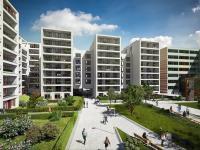Nový byt  3+kk o výměře 69,5m2 + 5,1m2 balkon, Praha - Karlín.