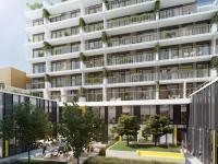 Moderní byt  3+kk o výměře 77,7m2 + 18m2 terasa, Praha - Karlín.