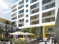 Moderní byt  2+kk o výměře 65m2 + 12,1m2 balkon, Praha - Karlín.
