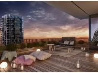Nový 4+kk o ploše 103,5m2 + 2x balkón 27m2 s volným výhledem.entací.