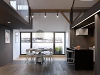 Rozestavěná bytová jednotka 3+kk o ploše 75,7m2 v historické části Žižkova.
