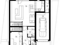 Rodinný, řadový cihlový dům 5+kk/T o ploše 153,5 m2 + 22,6m2 terasa na pozemku 266m2.