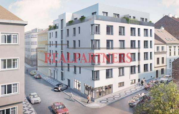 Nový byt 3+kk o ploše 71,85m² na rozhraní Smíchova a Radlic.