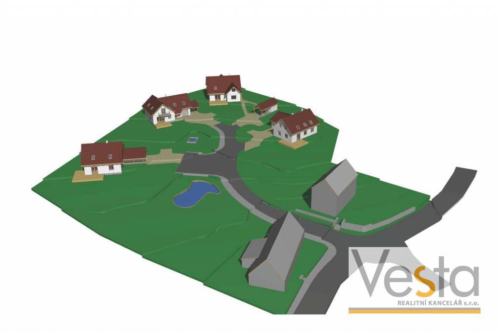 Stavební pozemky v obci Dobrná