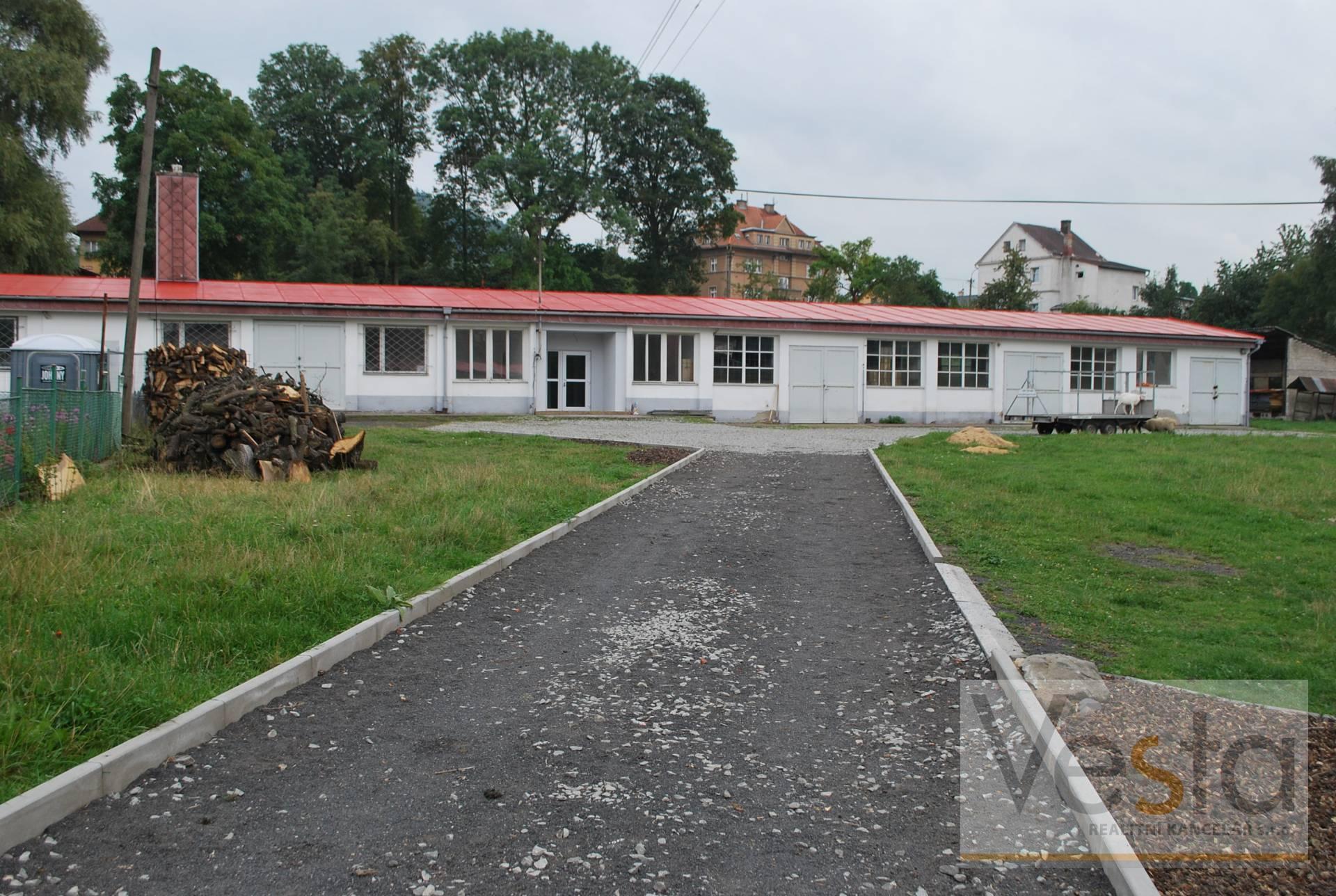 Pronájem haly v České Kamenici