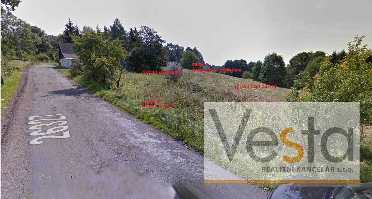 Pozemek pro výstavbu 1 - 2 RD, Doubice – 3 763 m2
