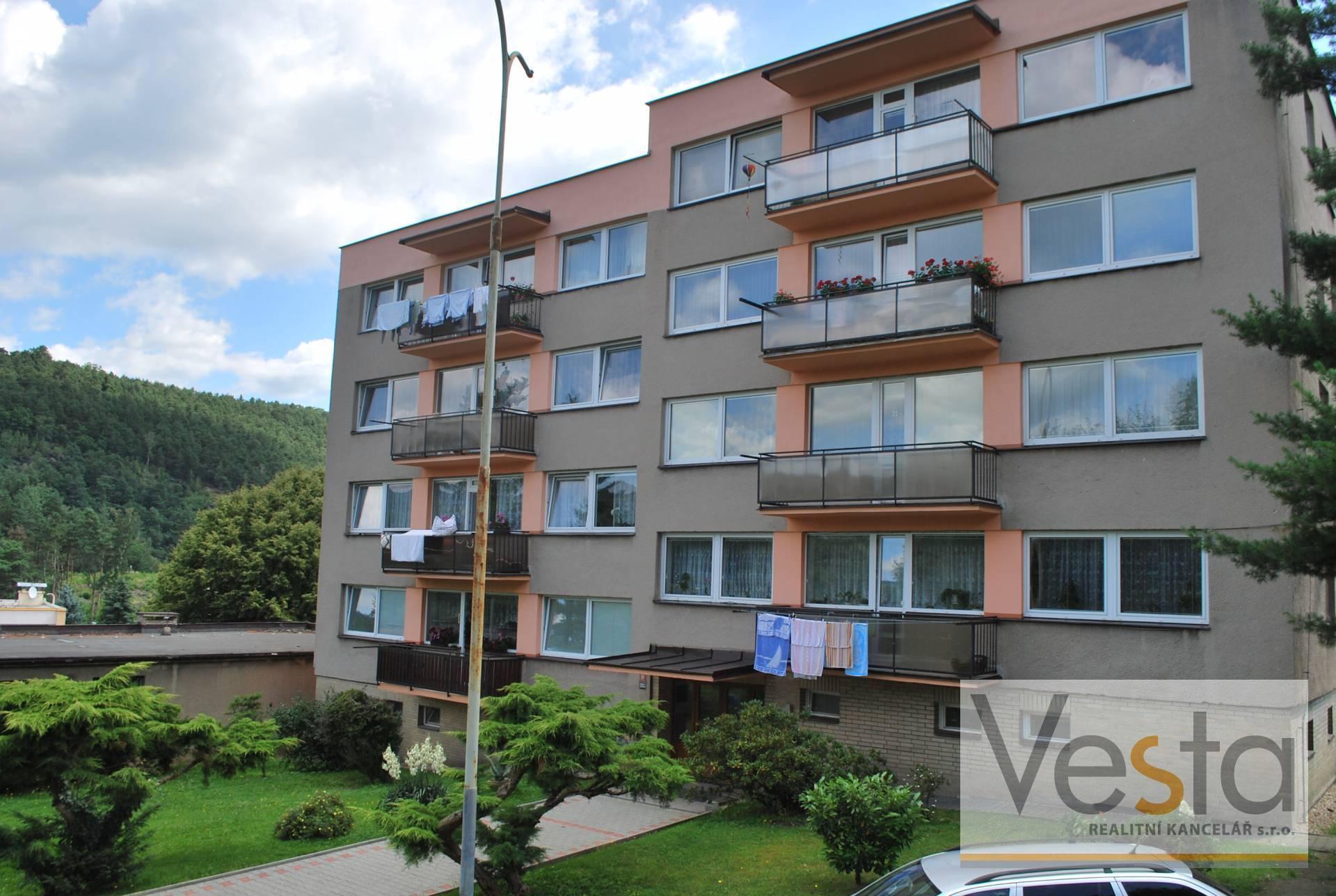 Byt 4+1 s hezkým výhledem v obci Děčín VI-Letná