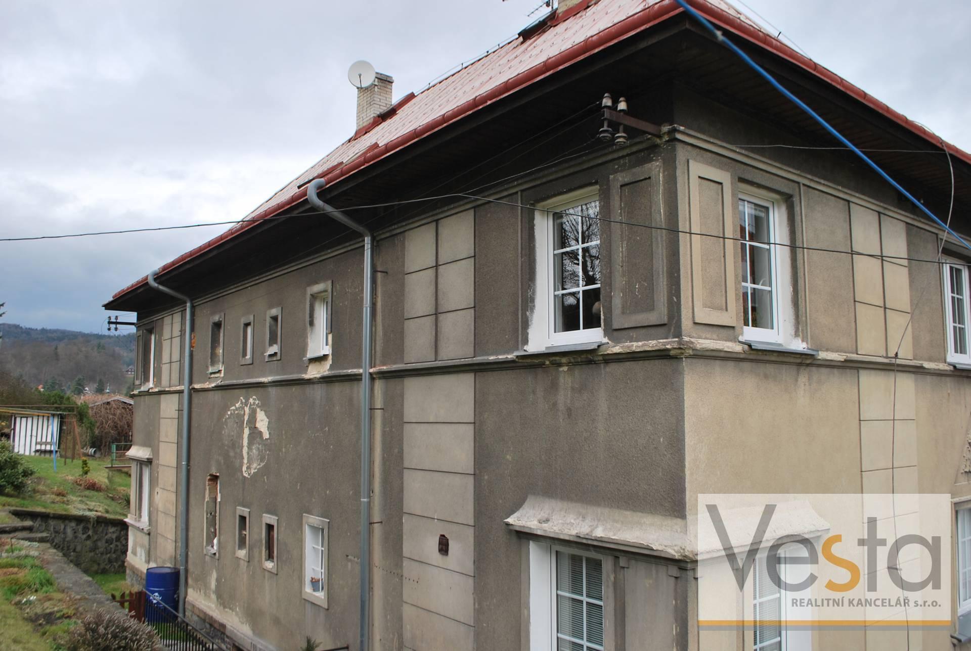 Byt 1+1 v pěkné lokalitě v Benešově nad Ploučnicí