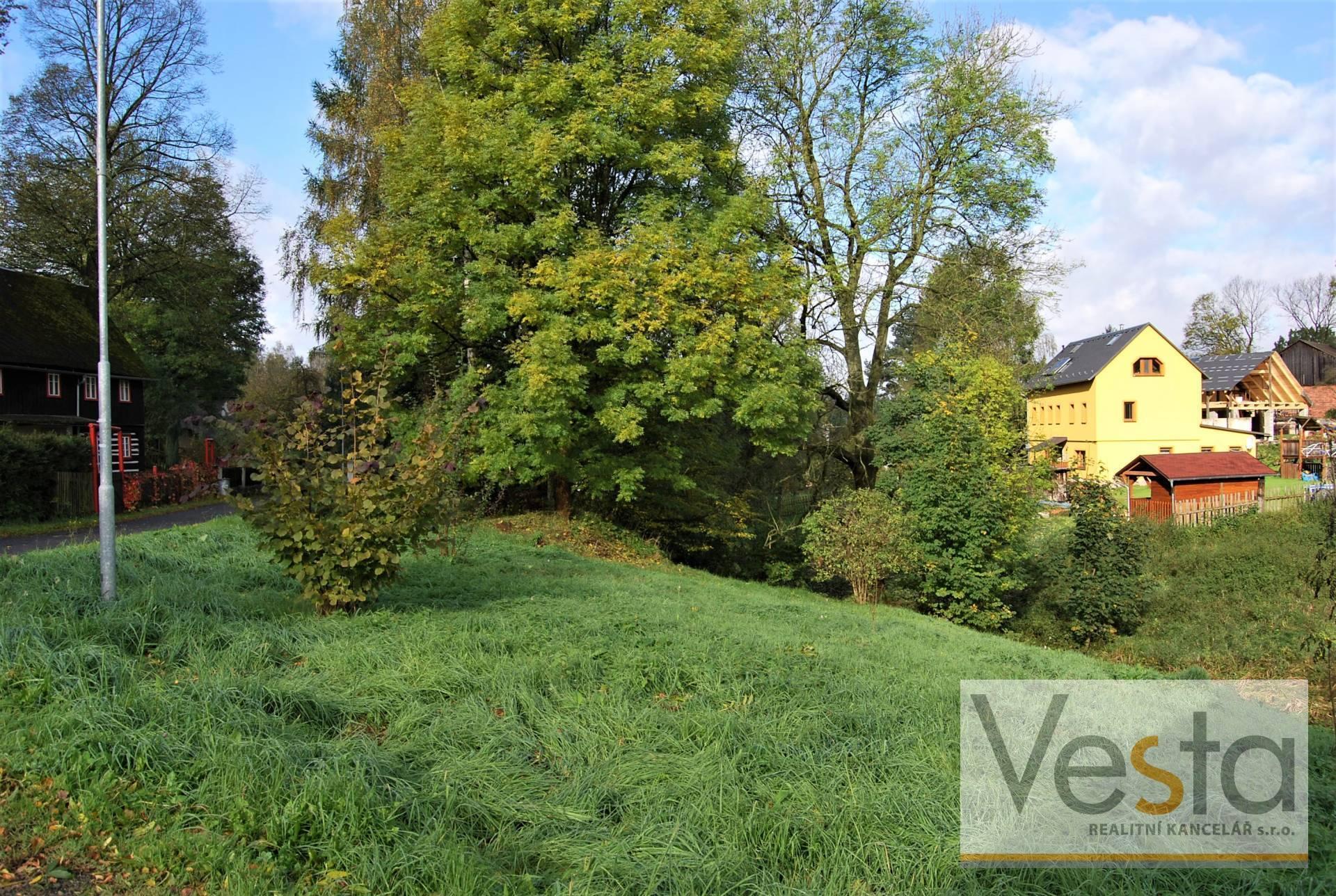 Pozemek vhodný na výstavbu domu či chaty, 1 429 m2