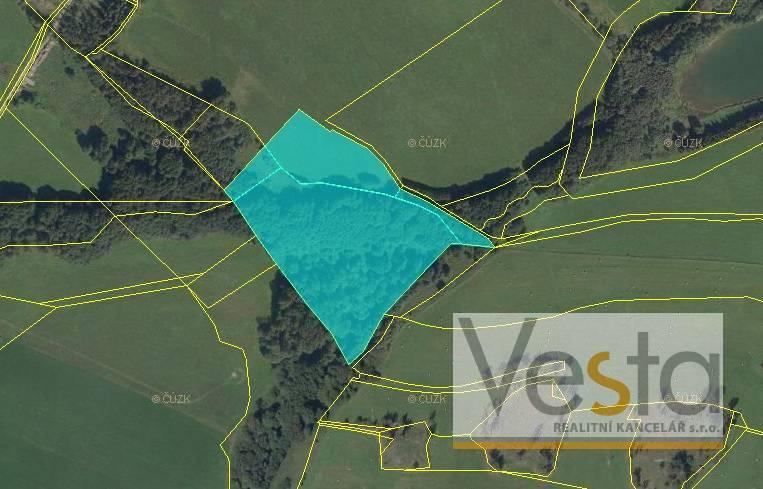 Soubor pozemků o výměře 33 168 m2, obec Roudno