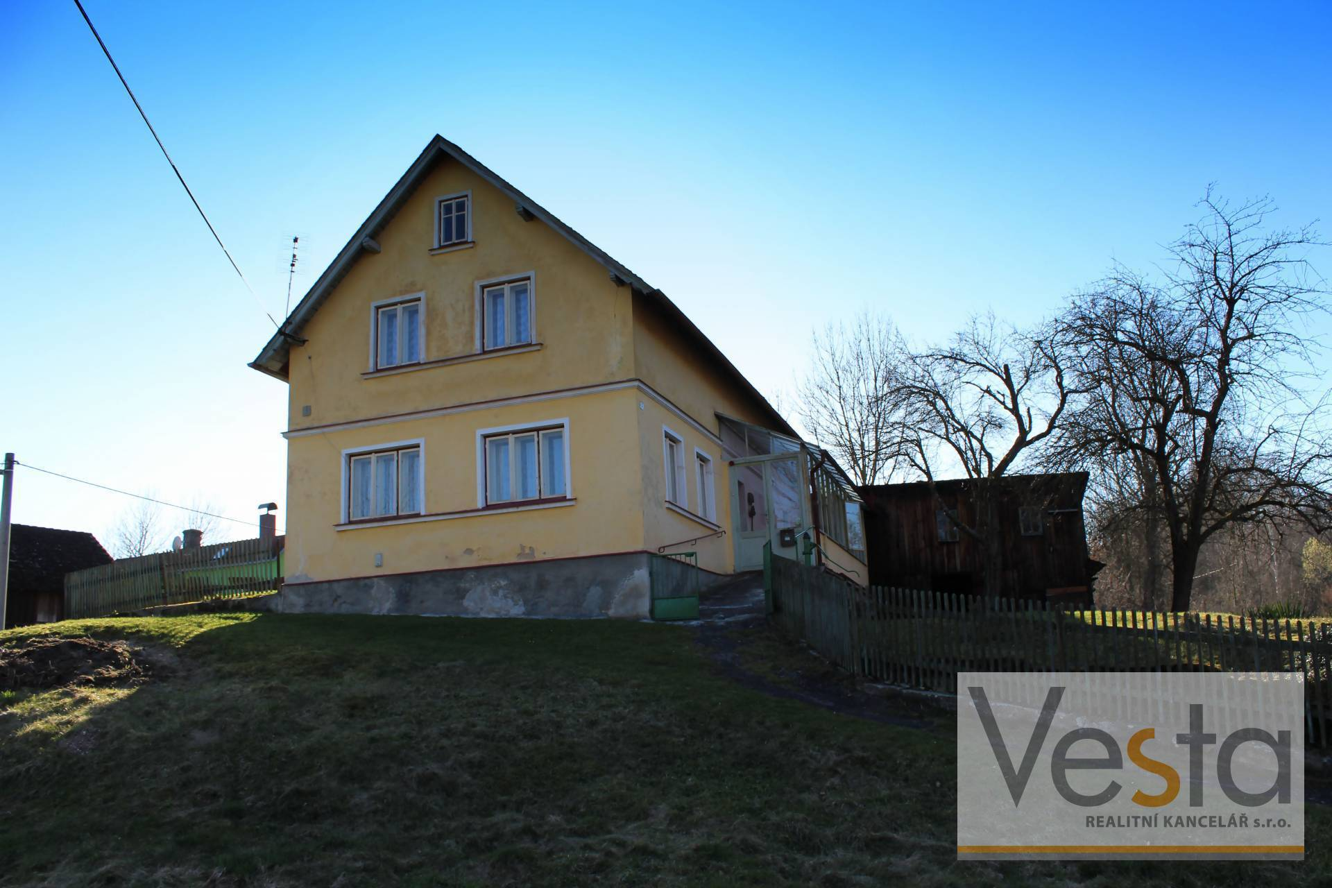 Cottage near recreational lake Stara Oleska, Decin district