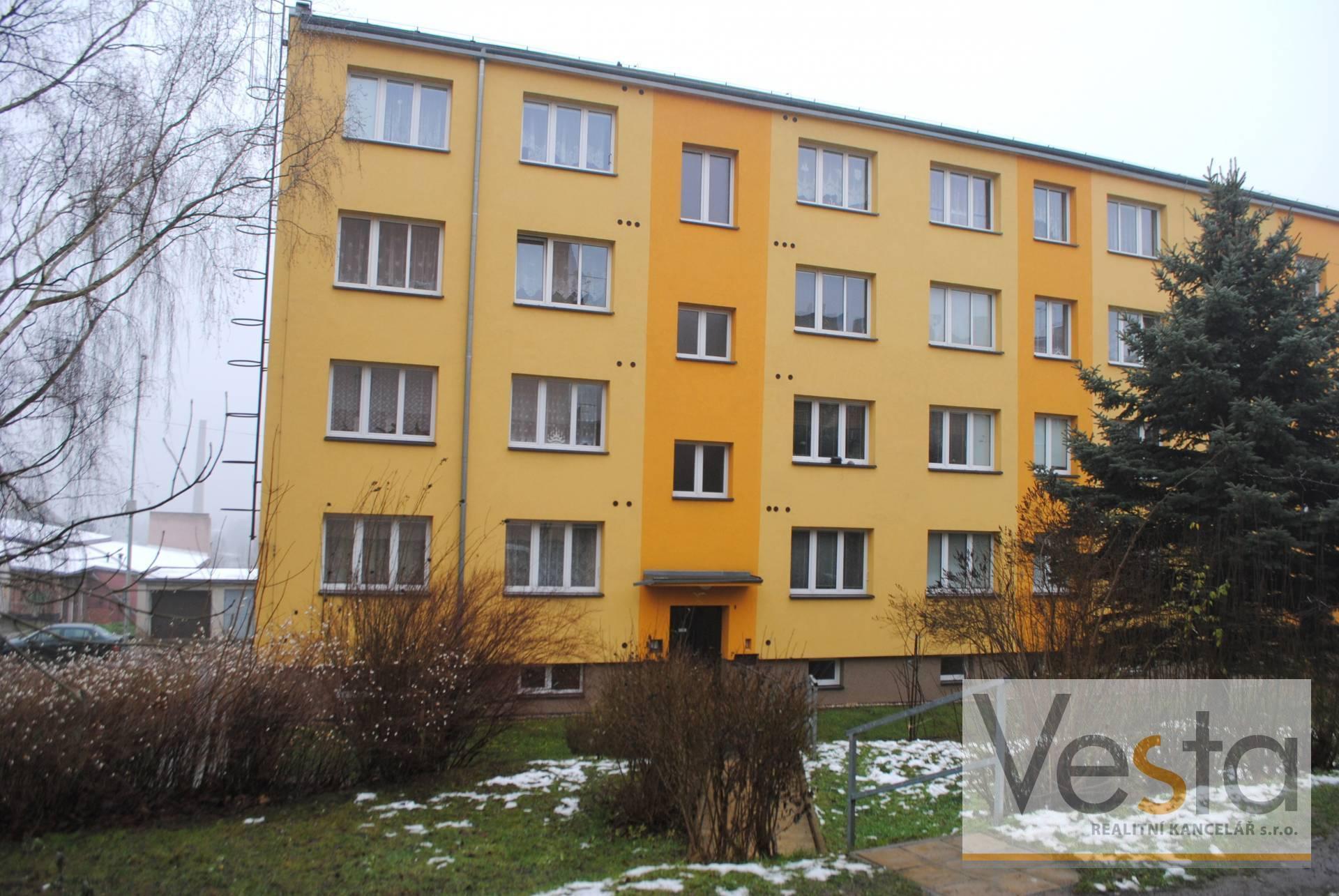 Byt 3+kk s balkónem, Děčín Nové Město, 62 m2