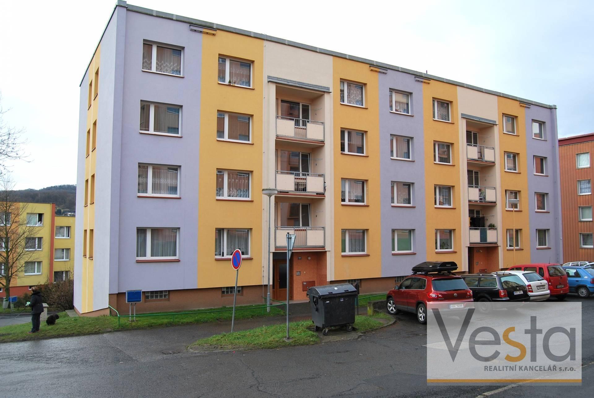 Světlý byt 3+1 v obci Jílové u Děčína, 65 m2