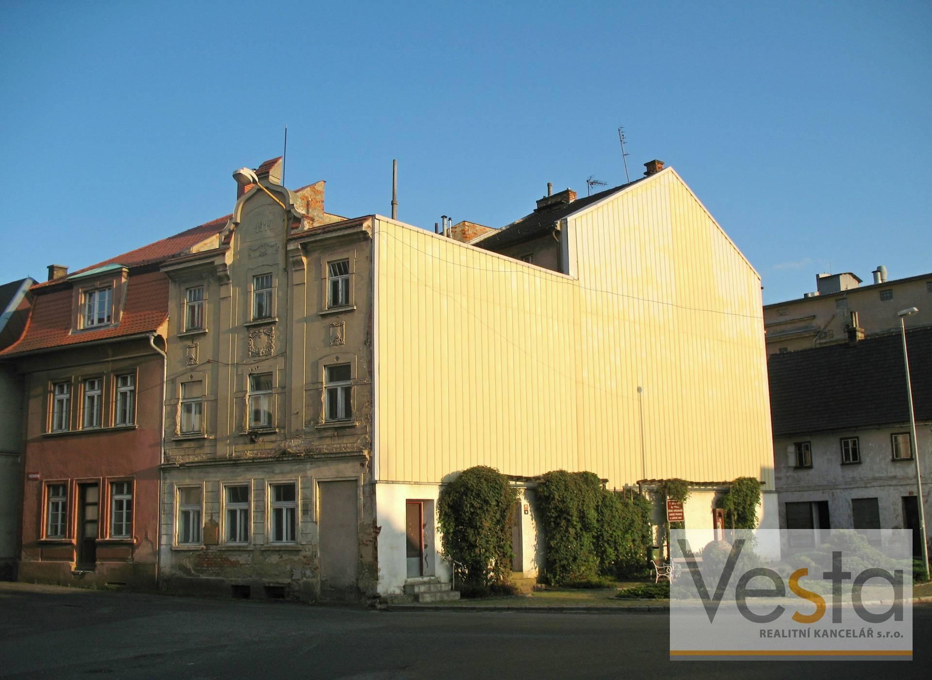 Prodej domu s nebytovými prostory Česká Kamenice