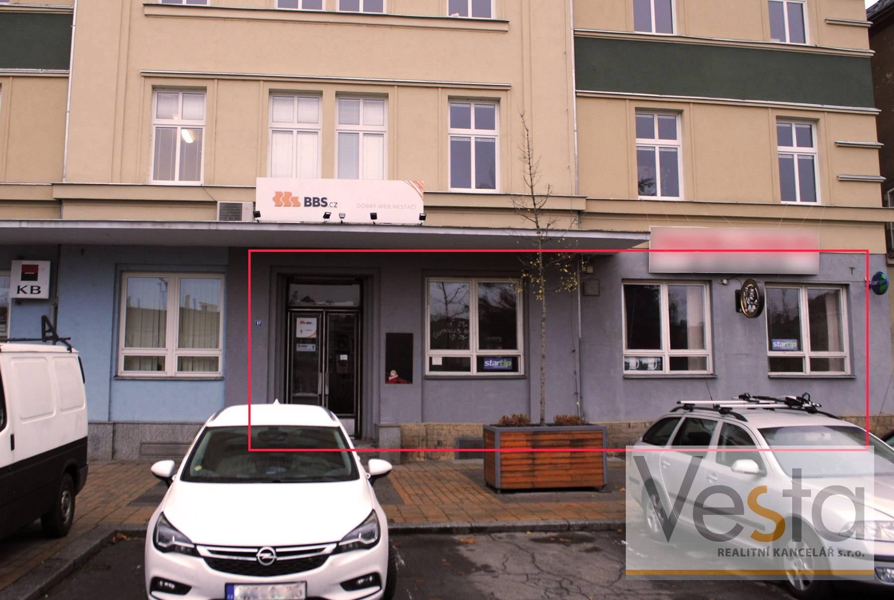 Pronájem baru v centru města Děčín, 115 m2
