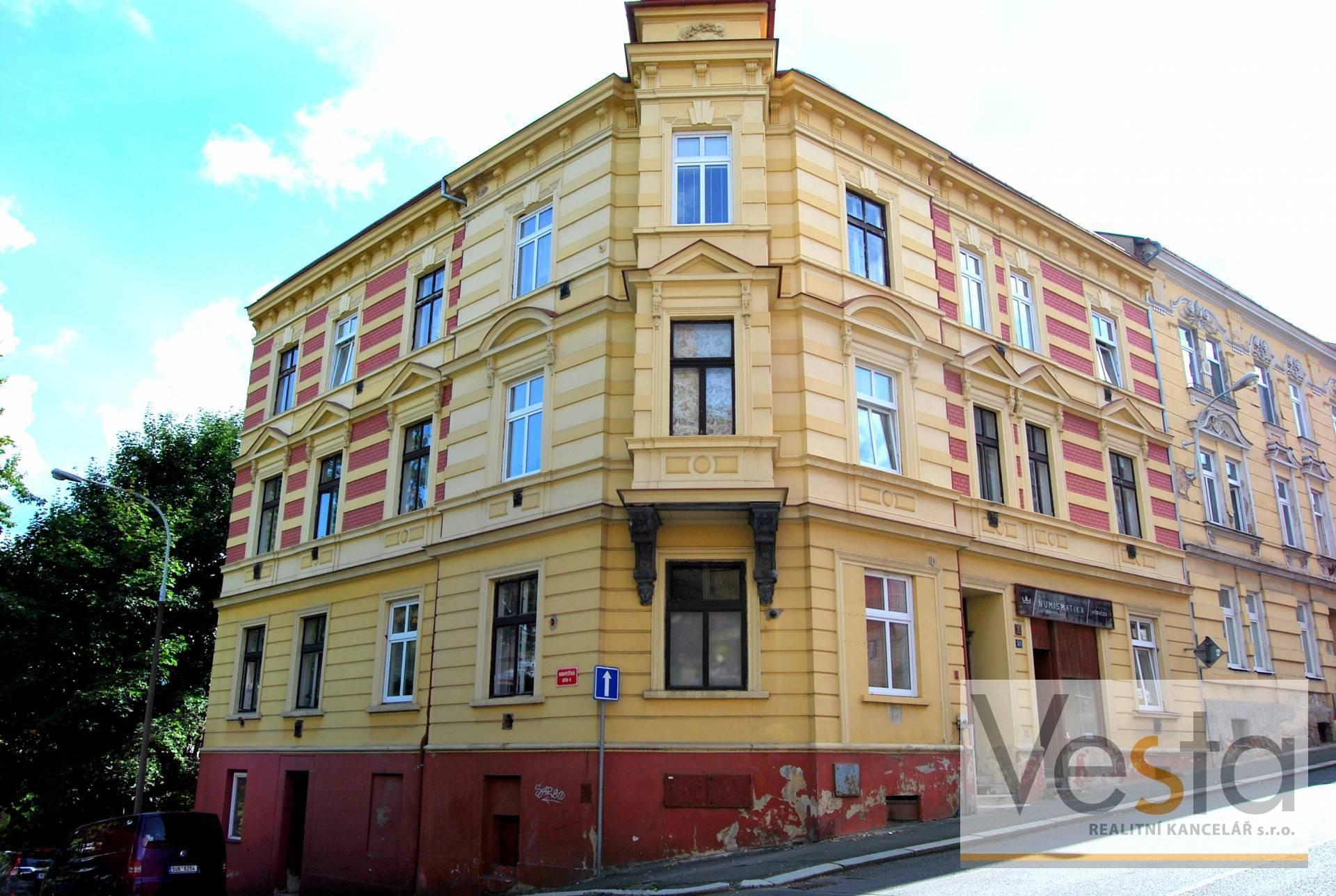 Zrekonstruovaný byt 2+1, Děčín - Letná