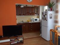 Velký Třebešov - prodej bytu 3+kk s komorou , zahradou a zděnou chatou s přístřeškem