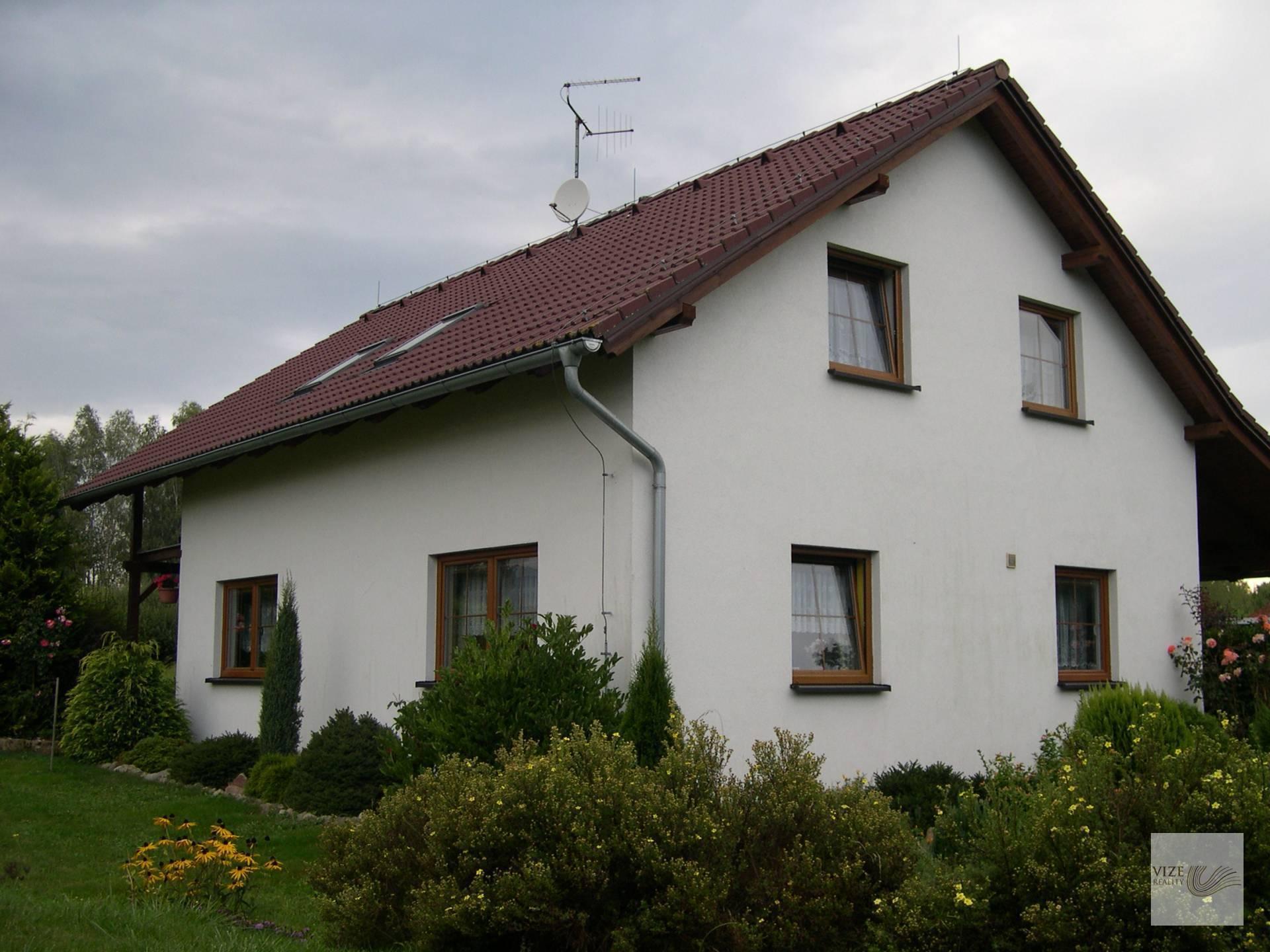 Rodinný dům v obci Dubnice.