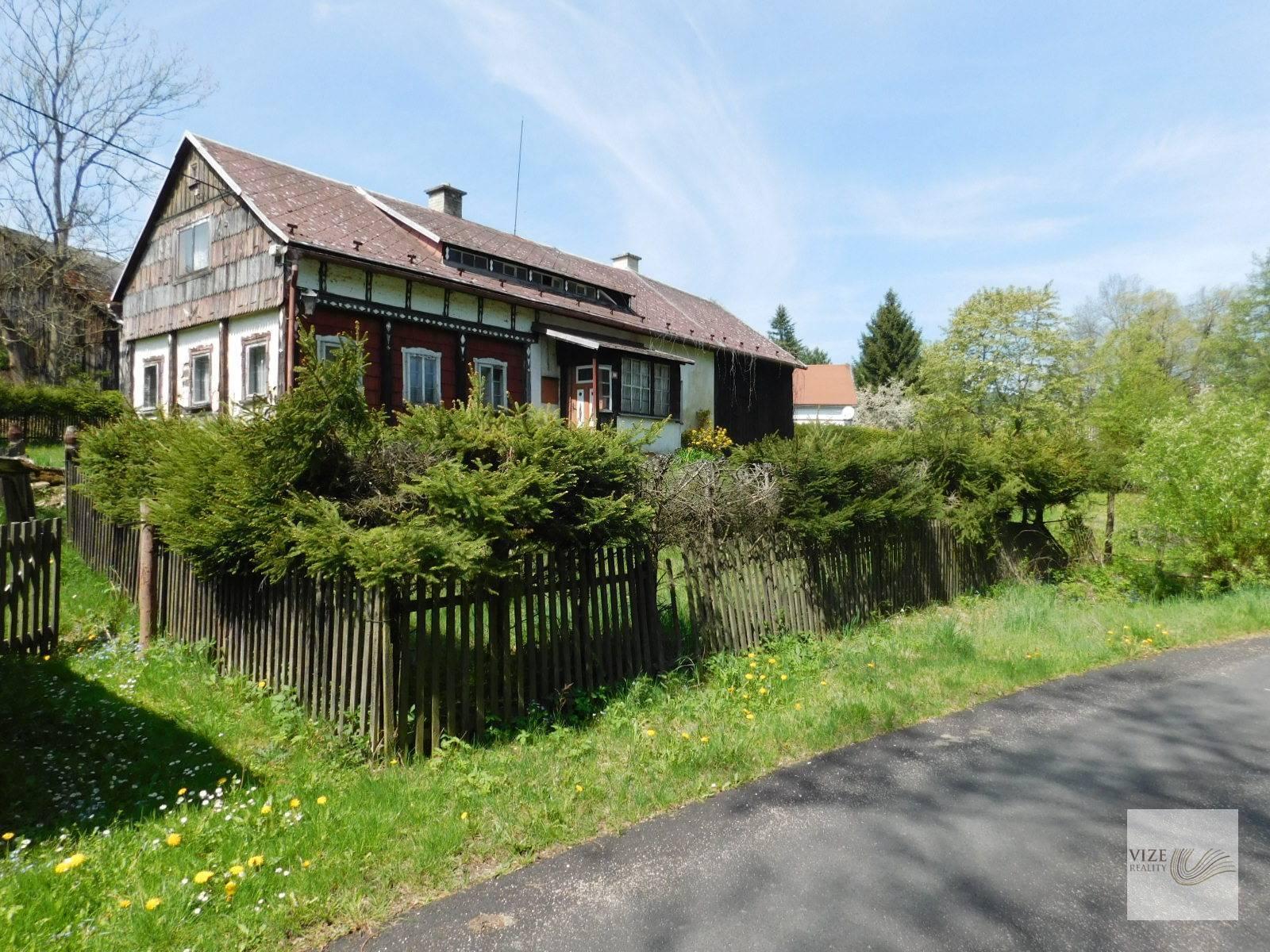 Rodinný dům Heřmanice v Podještědí.