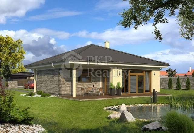 Nízkoenergetický rodinný dům na klíč 4 1 bungalov 1075