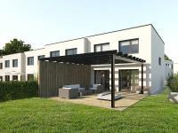 Řadový rodinný dům 4+kk o ploše 108,8m2 + terasa 9,5m2 na pozemku 269 m2.