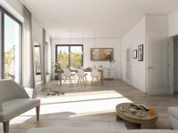 Nový byt 4+kk o ploše 121,64m2 + 12,7m2 balkon + 21,6m2 terasa na rozhraní Smíchova a Radlic.