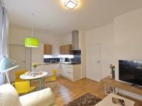 Zrekonstruovaný byt 1+kk o ploše 25,4m2 v klidné a vyhledávané části Libně.