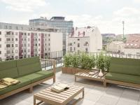 Zrekonstruovaný byt 3+kk o ploše 72,9m2 + 7m2 balkon + 34,5m2 terasa v vyhledávané části Libně.