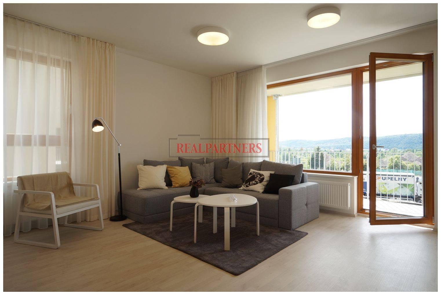 Nový byt 3+kk o ploše 82,4m² + 8,6m² balkón s JS orientací ve výstavbě.