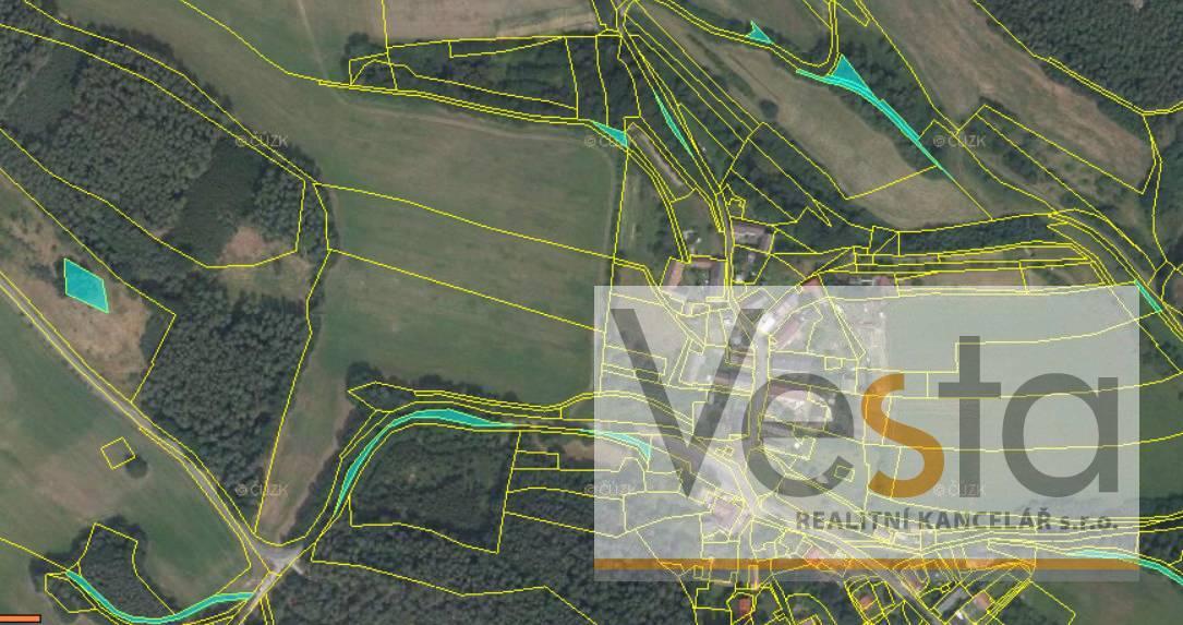 Veřejná dražba pozemků v Domašicích, 29 775 m2