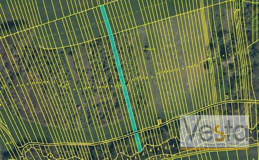 Soubor pozemků o výměře 2 219 m2, obec Hradčovice