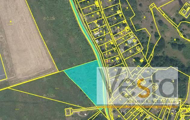 Pozemky pro výrobu a skladování 4  067 m2 Kadaň