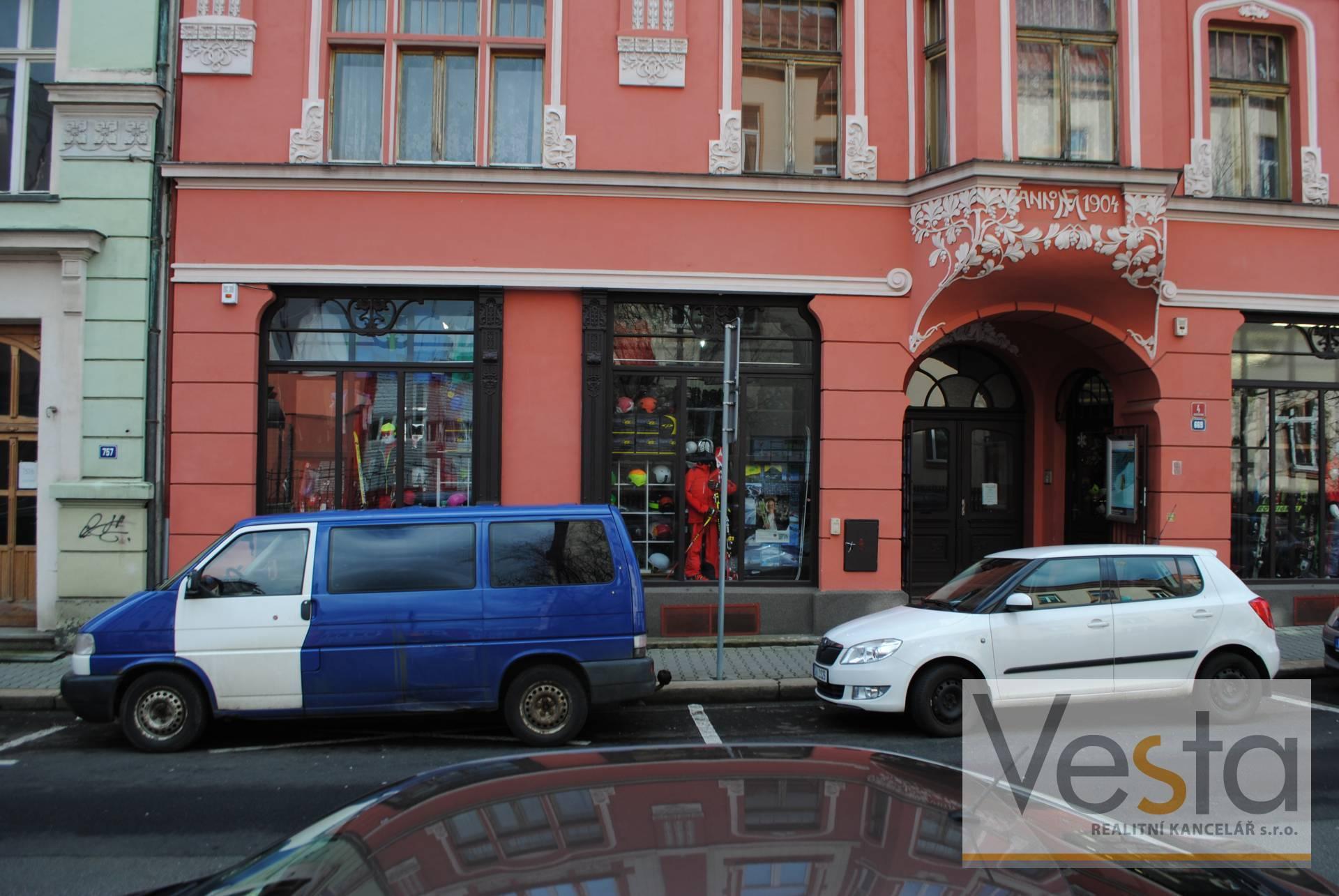 Nebytový prostor prodej v centru města