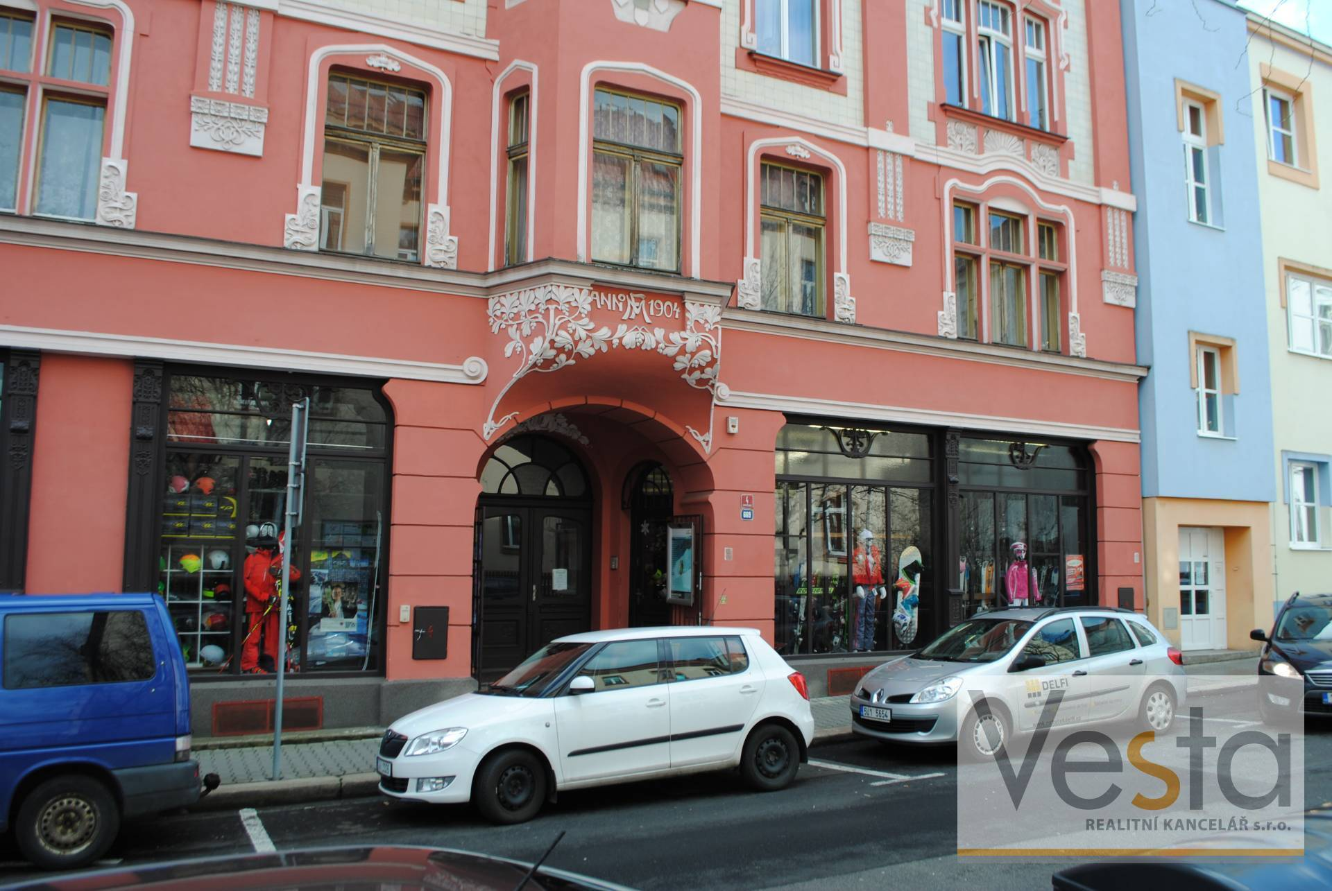 Atraktivní nebytový prostor v centru města Děčína I