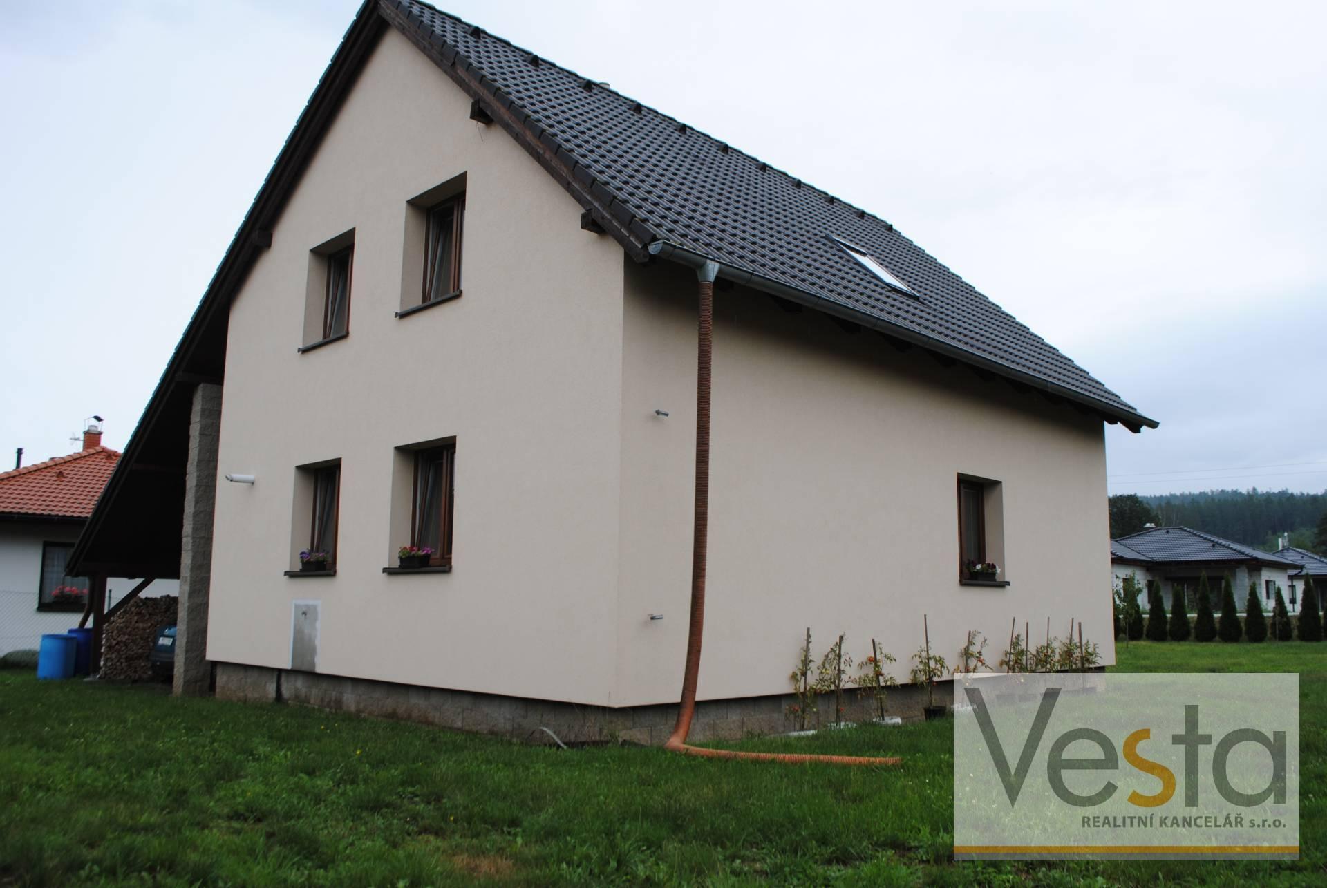 Dražba novostavby rodinného domu s pozemkem