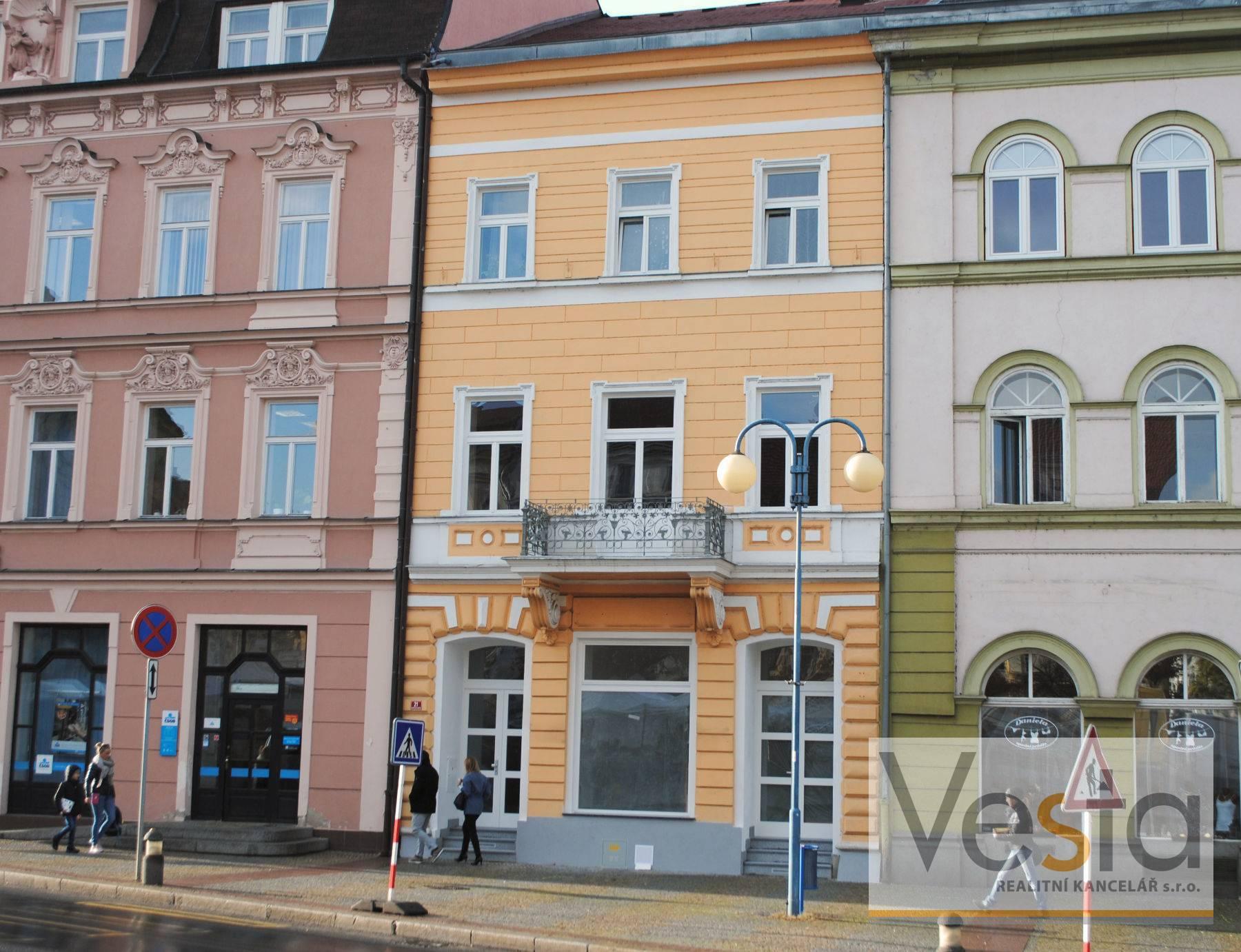 Atraktivní nebytový prostor na Masarykově náměstí