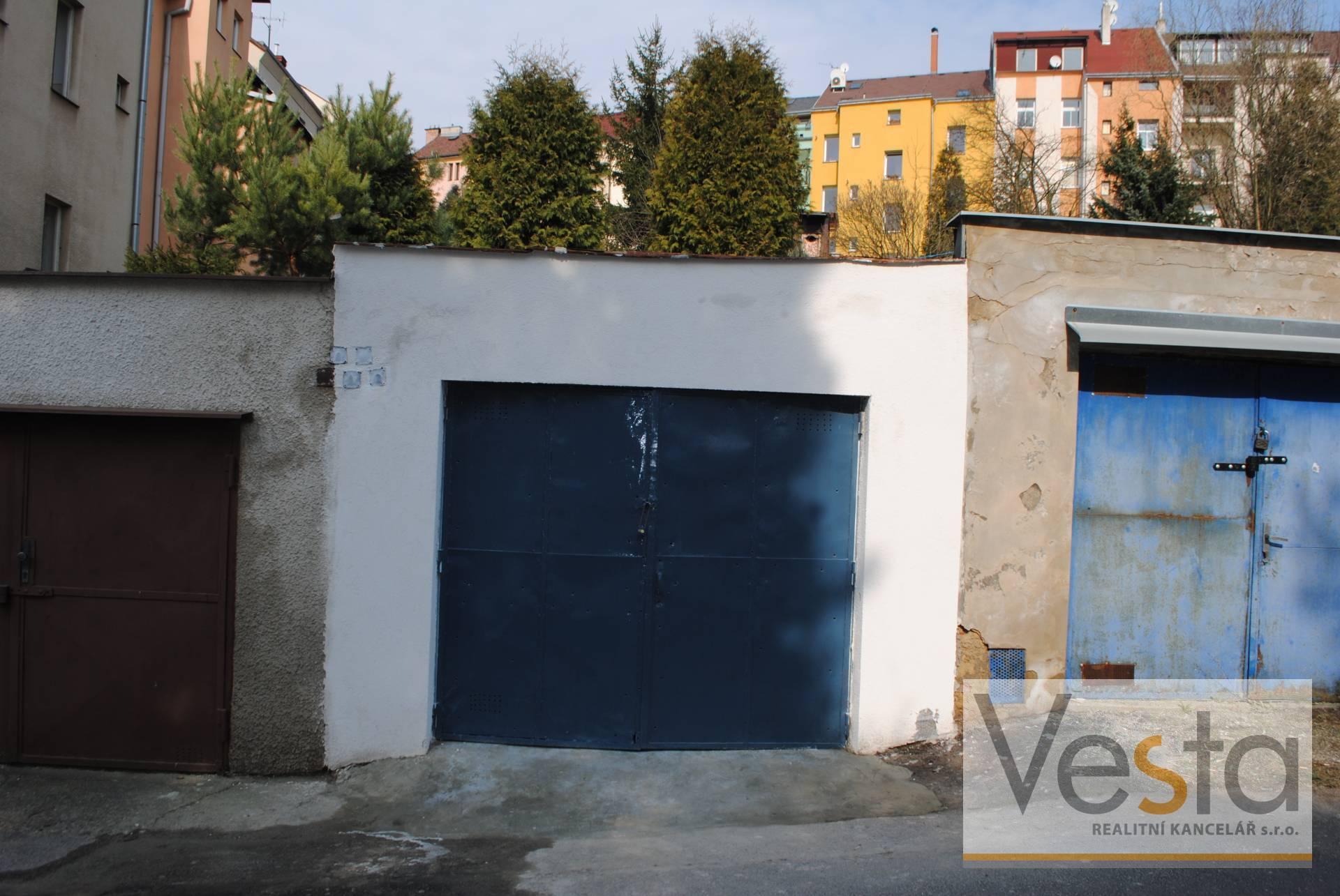 Prodej řadové garáže v širším centru města Děčín