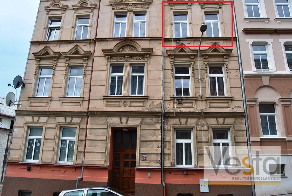 Byt 1+1 po částečné rekonstrukci, Děčín II – Nové Město
