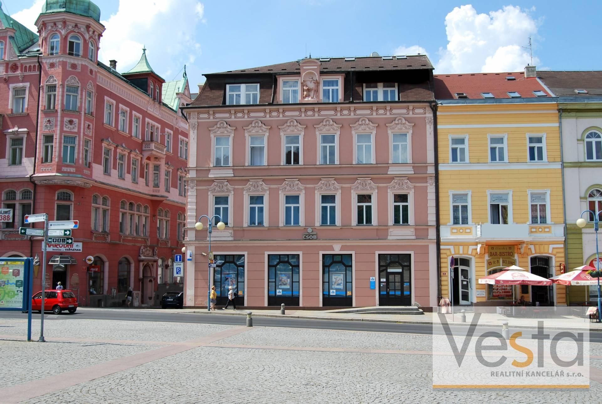 Obchodní prostory / kanceláře v centru Děčína