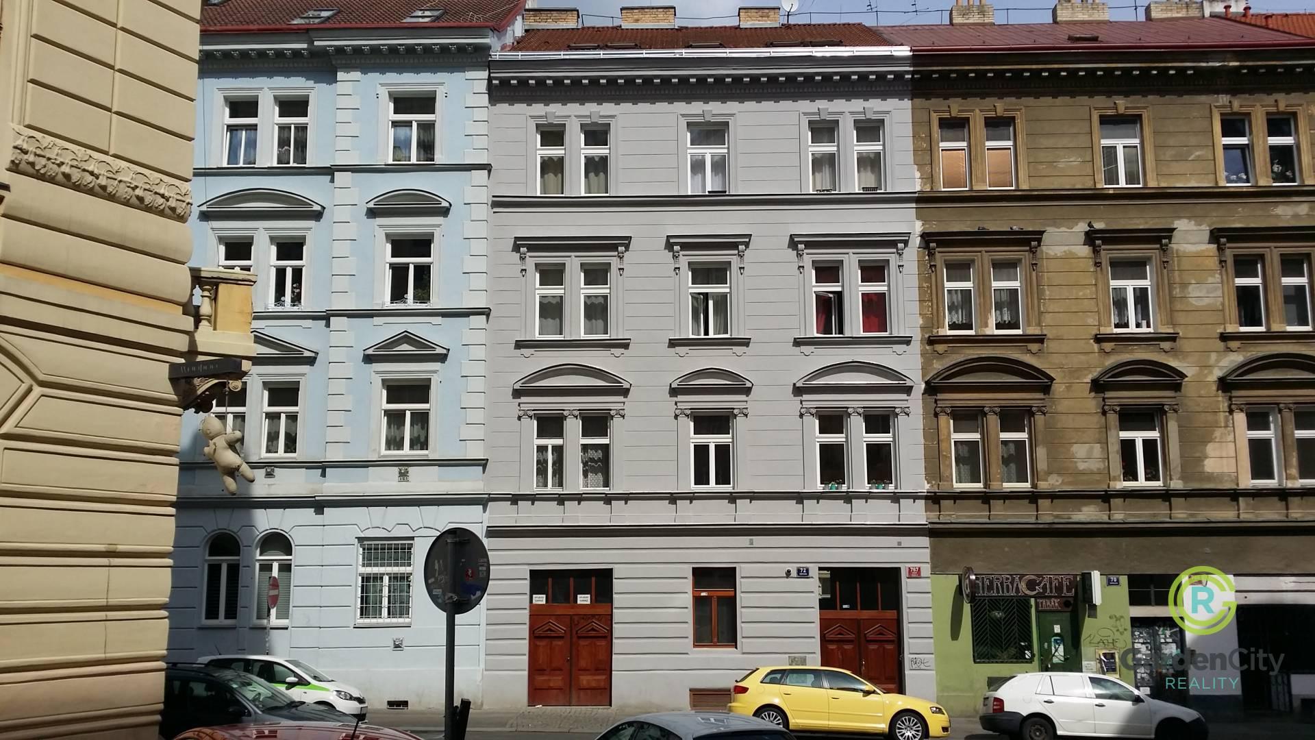 Činžovní dům, Bořivojova 72, Praha 3